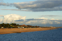Southsea, the beach as seen from the South Parade Pier, Hampshire © Peter Trimming